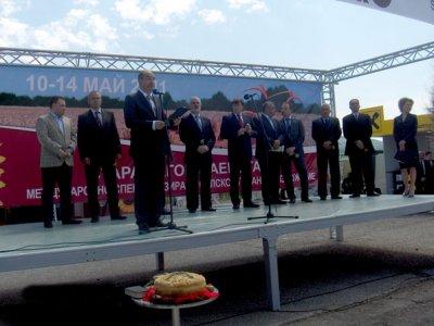 """Министър Мирослав Найденов откри Международното специализирано изложение """"БАТА АГРО 2011"""""""